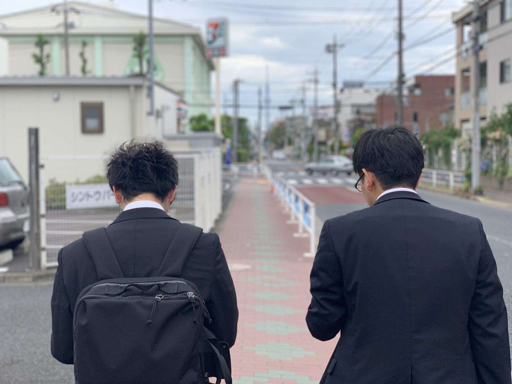 新入社員kくんの一歩