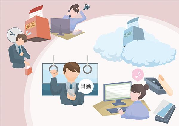 スマホで勤怠が導く業務効率アップ方法